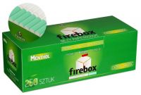 Firebox Menthol Hülsen (250 Stück)