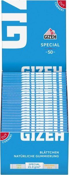 Gizeh Special blau Papier (50 x 1 Stück)
