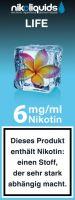 NikoLiquids Life Liquid 6mg Nikotin/ml (10 ml)