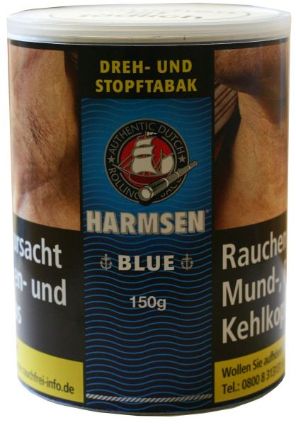 Harmsen Zigarettentabak Blue (Halfzware) (Dose á 150 gr.)
