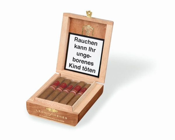 Leon Jimenes Zigarren Petit Corona Caribbean (Schachtel á 10 Stück)
