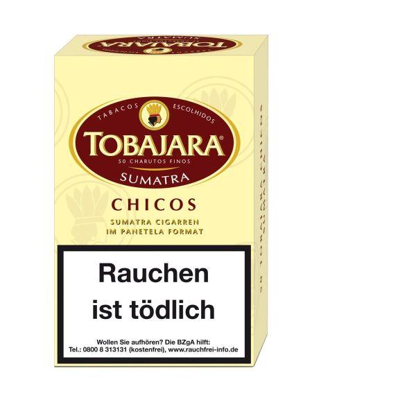 Villiger Zigarillos Tobajara Chicos Sumatra (Schachtel á 50 Stück)