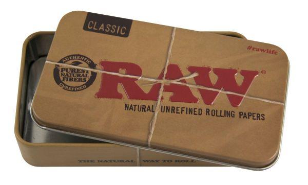 RAW Metall Box Zigarettenetui (Etui á 1 Stück)