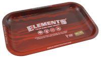 Elements Red Drehtablett klein aus Metall (Stück á 1 Stück)