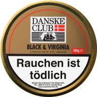 Danske Club Pfeifentabak Black & Virginia (Dose á 100 gr.)