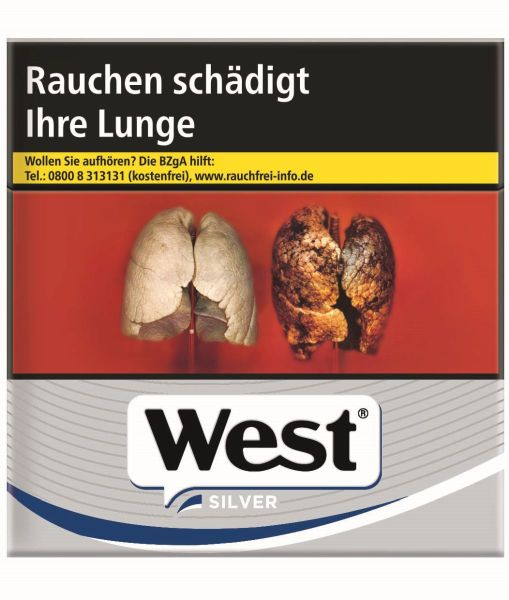 West Zigaretten Silver (4x38er)