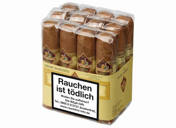 Principes Zigarren Bundles Short Robusto (Packung á 12 Stück)