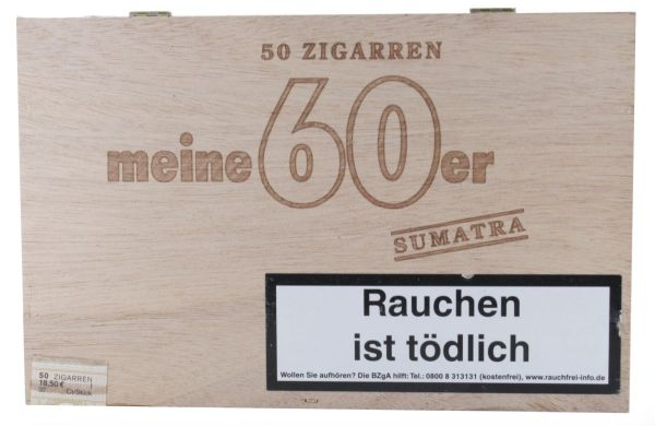 Diverse Zigarren Meine 60er Sumatra (Kiste á 50 Stück)