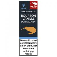 Red Kiwi Liquid Selection Bourbon Vanille California 9mg Nikotin/ml