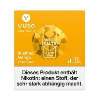 Vuse ePen Caps Blushed Mango Nic Salts 12mg Nikotin 2ml (2 Stück)