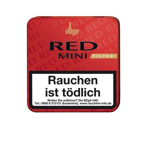 Villiger Zigarren Red Mini Filter (Schachtel á 20 Stück)