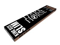 Dark Horse Black Papier King Size Slim (25 x 34 Stück)