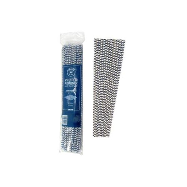Vauen Pfeifenreiniger extra lang 30 cm blau/weiß (Beutel á 50 Stück)
