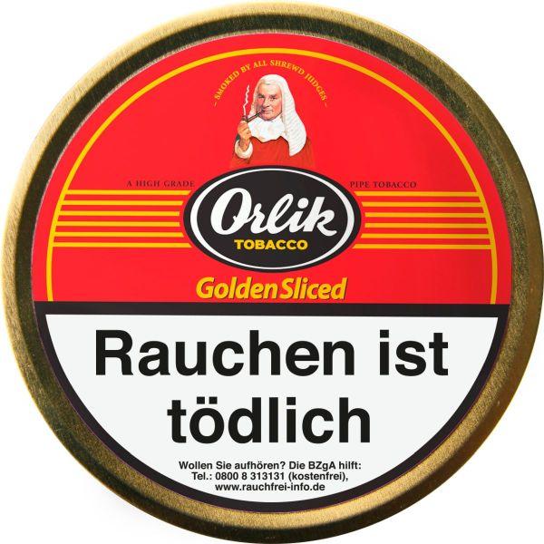Scandinavian Pfeifentabak Orlik Golden Sliced (Dose á 100 gr.)