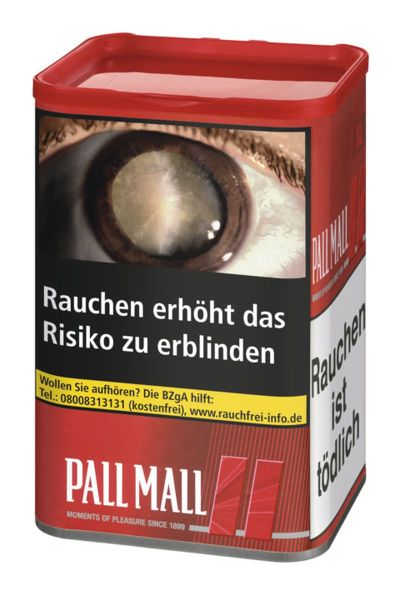 Pall Mall Volumentabak Red XL (Dose á 60 gr.)
