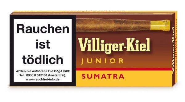 Villiger Zigarillos Kiel Junior Sumatra (Schachtel á 10 Stück)