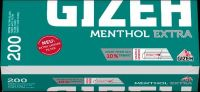 Gizeh Menthol Extra Zigarettenhülsen (200 Stück)