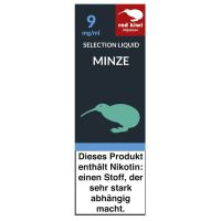 Red Kiwi eLiquid Selection Minze 9mg Nikotin/ml (10 ml)