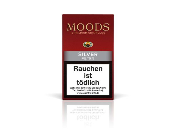 Moods Zigarillos Silver Filter (Schachtel á 10 Stück)