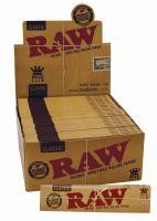 RAW Classic King Size Papier Slim Premium (50 x 32 Stück)