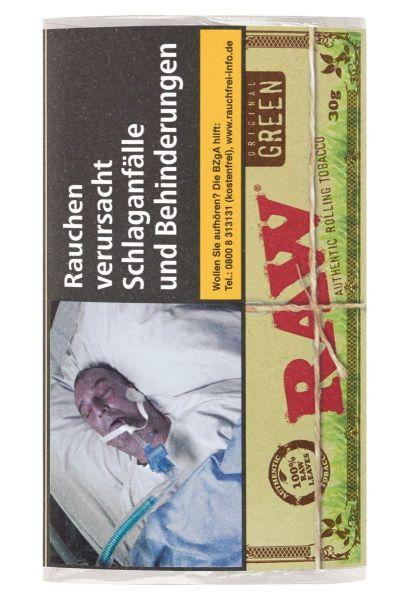 RAW Zigarettentabak Green (5x30 gr.) 5,50 € | 27,50 €
