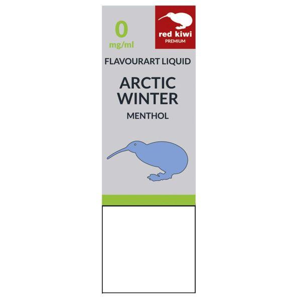 Red Kiwi eLiquid Artic Winter Menthol 0mg Nikotin/ml (10 ml)