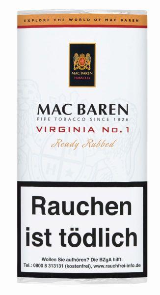 Mac Baren Pfeifentabak Virginia No.1 (Pouch á 50 gr.)