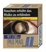 Pall Mall Authentic Blue 9,90€ (Giga)