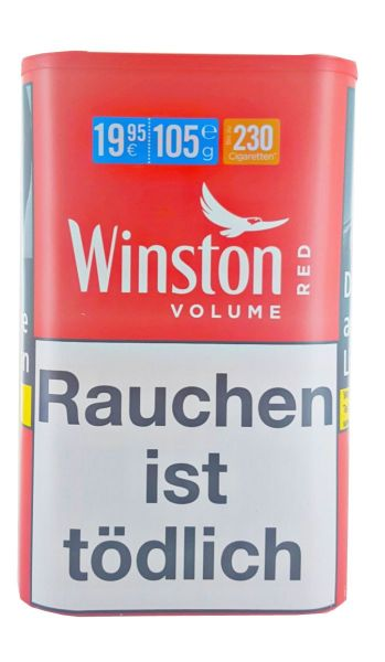 Winston Volumentabak Volume Red Tin-L (Dose á 105 gr.)