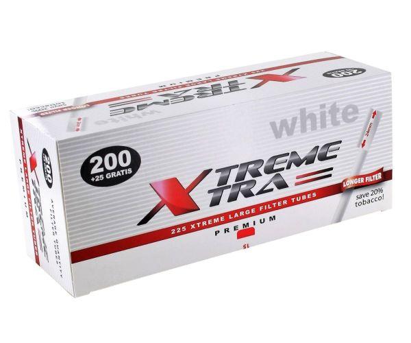 Xtrem White Xtra Zigarettenhülsen (225 Stück)