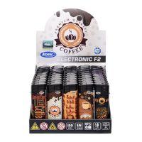 Feuerzeuge Atomic Elektronik Motiv Coffee