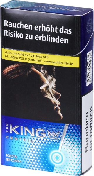 The King Zigaretten King Centrio Storm 100 (10x20er)