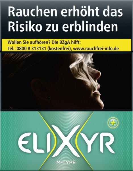 Elixyr Zigaretten + M-Type Cigarettes (XL) (8x25er)