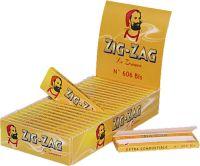 Zig-Zag gelb Zigarettenpapier No. 606 (25 x 50 Stück)