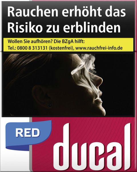 Ducal Zigaretten Red Cigarettes (XXL) (8x27er)