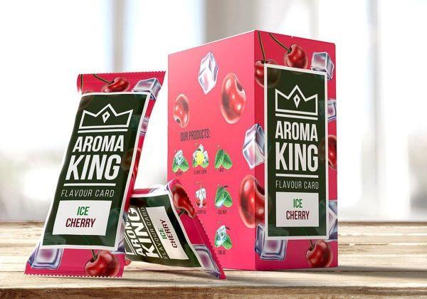 Aroma King Aroma Card Cherry Ice (25 x 1 Stück)