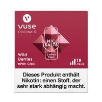 Vuse ePen Caps Wild Berries Nic Salts 18mg Nikotin 2ml (2 Stück)