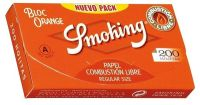 Smoking Bloc Orange Regular Size Papier (70x37mm) (20 x 200 Stk.)