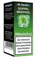 NikoLiquids Doppel Menthol 0mg Nikotin/ml (10 ml)