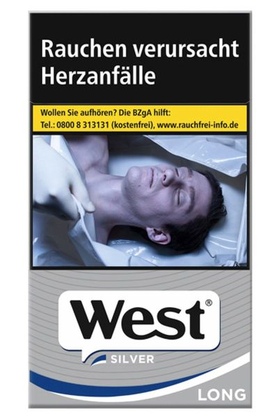 West Zigaretten Silver Long (10x20er)