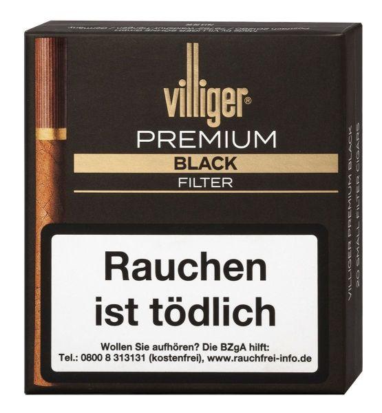 Villiger Zigarillos Premium Black Filter (Schachtel á 20 Stück)