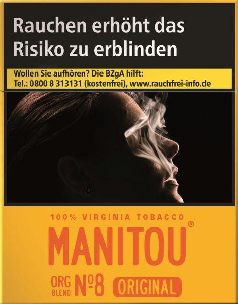 Manitou Zigaretten Original Org Blend No. 8 Big Pack (8x25er)