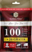 Golden Filter Glue Line Slim 6mm (10 x 120 Stück)