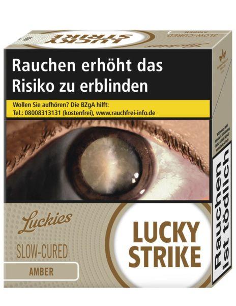 Lucky Strike Zigaretten Amber 10€ (Giga) (8x31er)