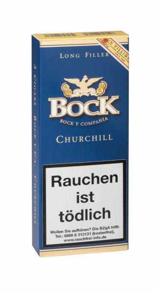 Villiger Zigarren Viliger Bock y Ca. Churchill Tubo (Schachtel á 3 Stück)