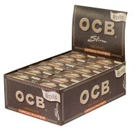 OCB Unbleached Rolls Virgin Paper (24 x 1 Stück)