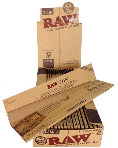 RAW Classic Papier Supernatural 12 Inch XXL (20 x 20 Stück)