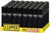 Feuerzeuge Clipper Soft Touch & Black Cap