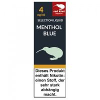 Red Kiwi Liquid Selection Menthol Blue 4mg Nikotin/ml