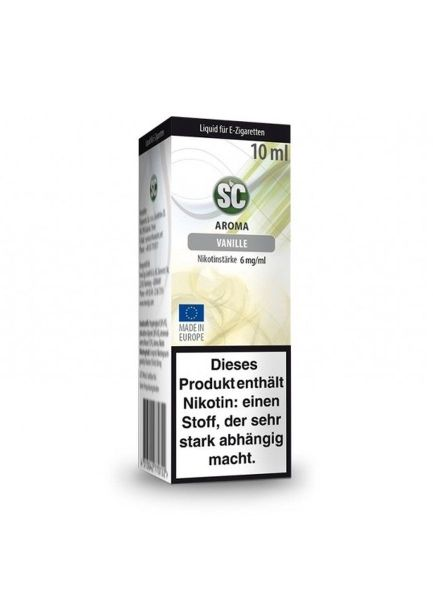 SC eLiquid Vanille 6mg Nikotin/ml (10 ml)